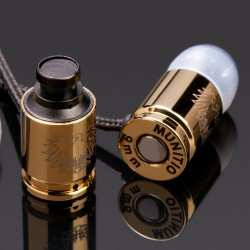 Nine Millimeter Bullet Ear Buds